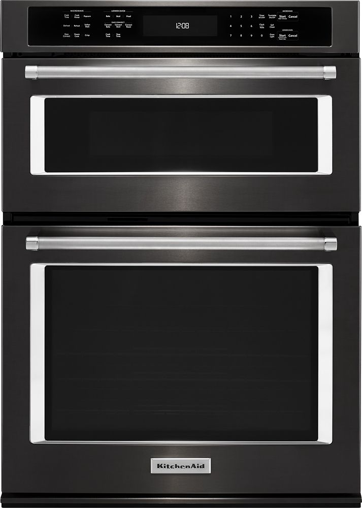 Kitchenaid 30 Single Electric Convection Wall Oven With Built