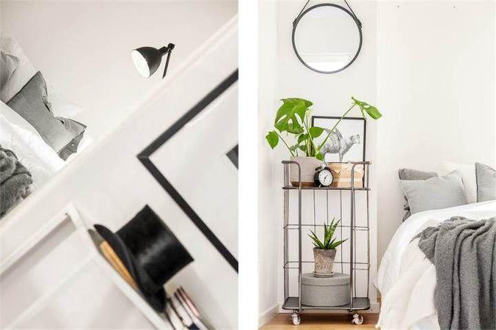 Pequeño piso con gran exterior mobiliario ligero nórdico interiores pisos pequeños estilo nórdico escandinavo diseño…