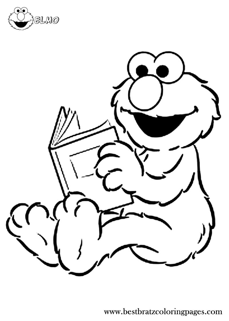 Bestbratzcoloringpages Com Elmo Coloring Pages Sesame Street Coloring Pages Toddler Coloring Book