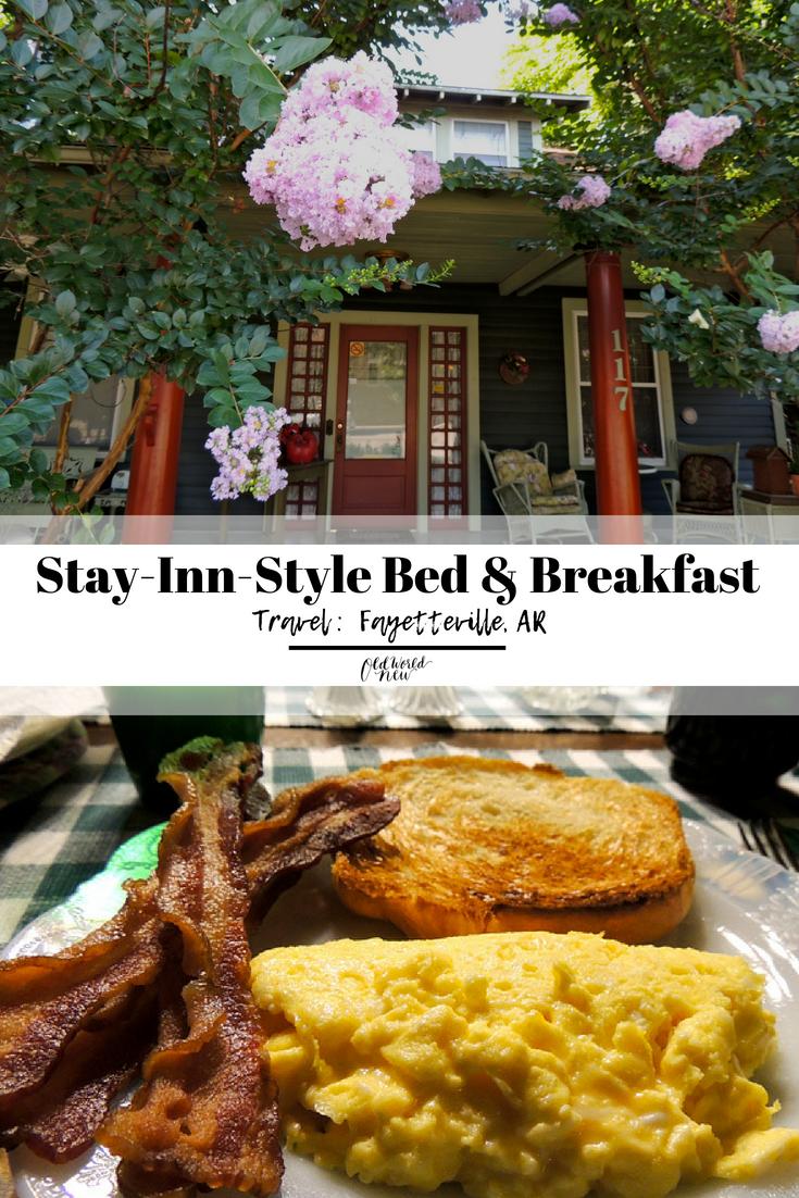 Stay Inn Style Bed Breakfast Fayetteville Arkansas Travel