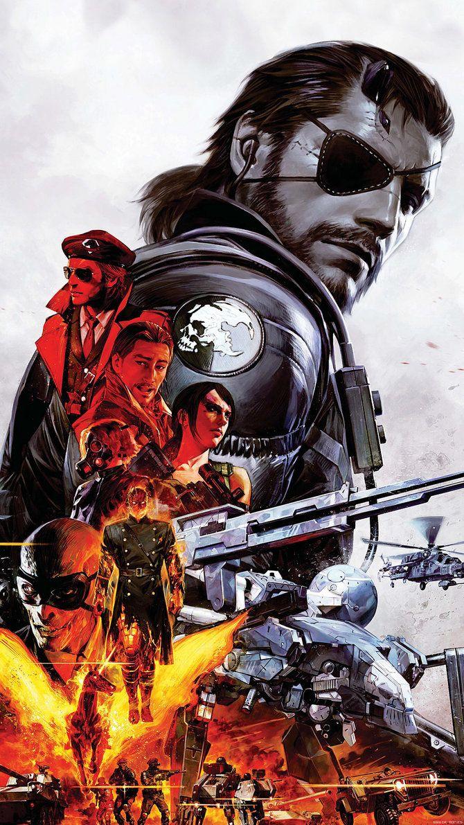 Metal Gear Solid V Smartphone Wallpaper By De Monvarela On