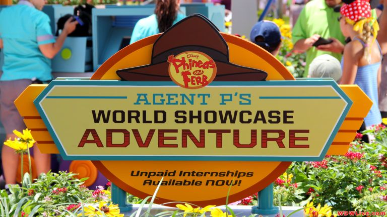 Agent P's World Showcase Adventure Now on My Disney