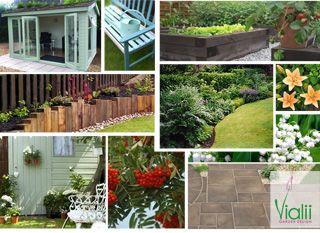 Vialii Garden Design An Oasis In The City Garden Design Outdoor Structures Design