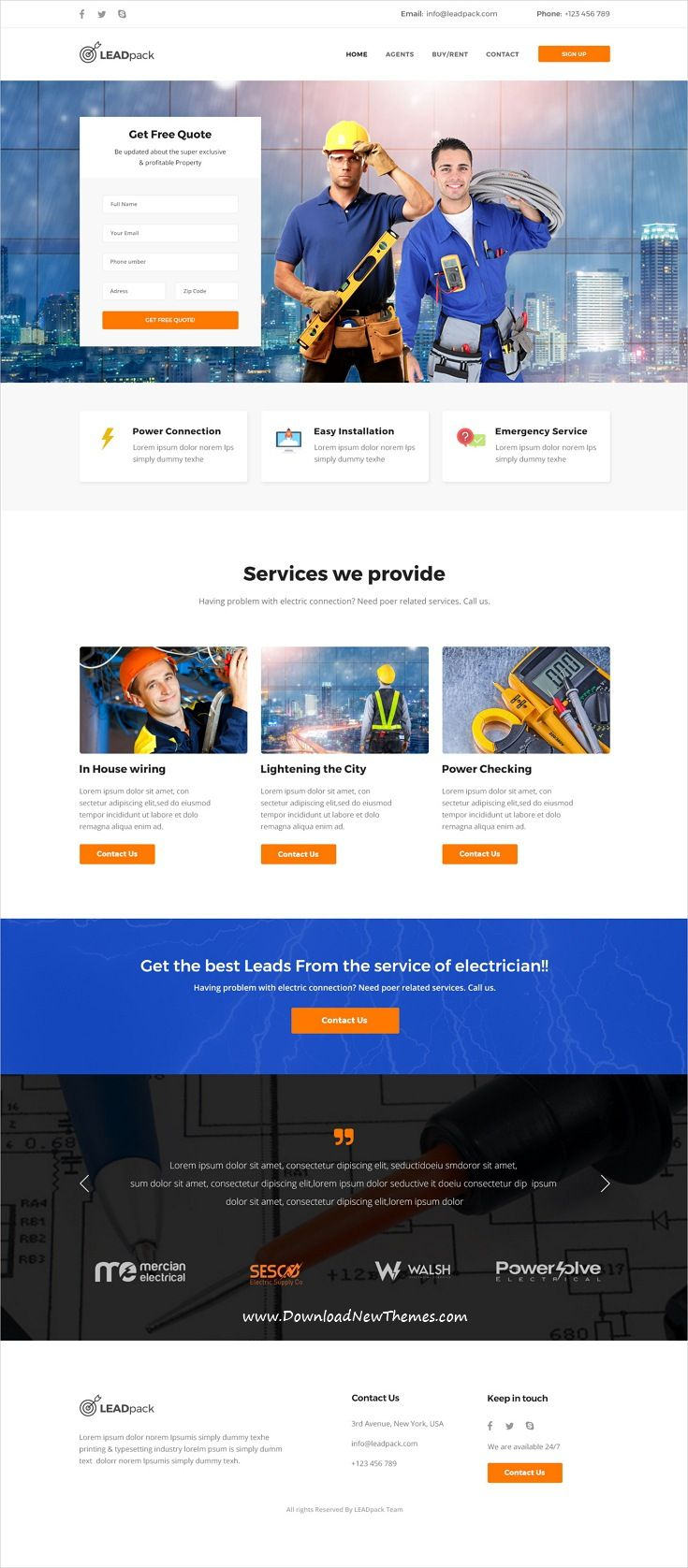leadpack marketing psd landing pages pack pinterest psd