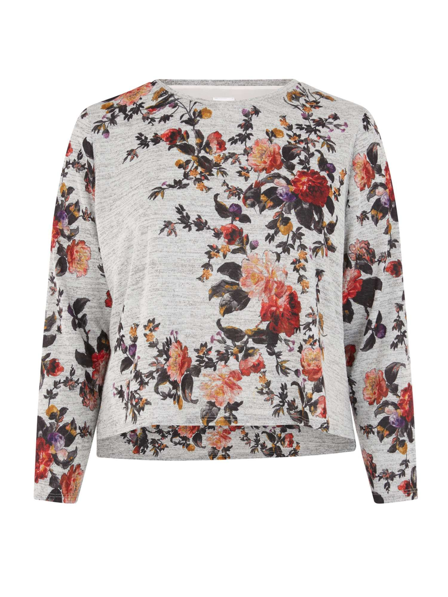 11103118b4 Oasis Curve Autumn Garden Woven Mix Cosy Top - House of Fraser