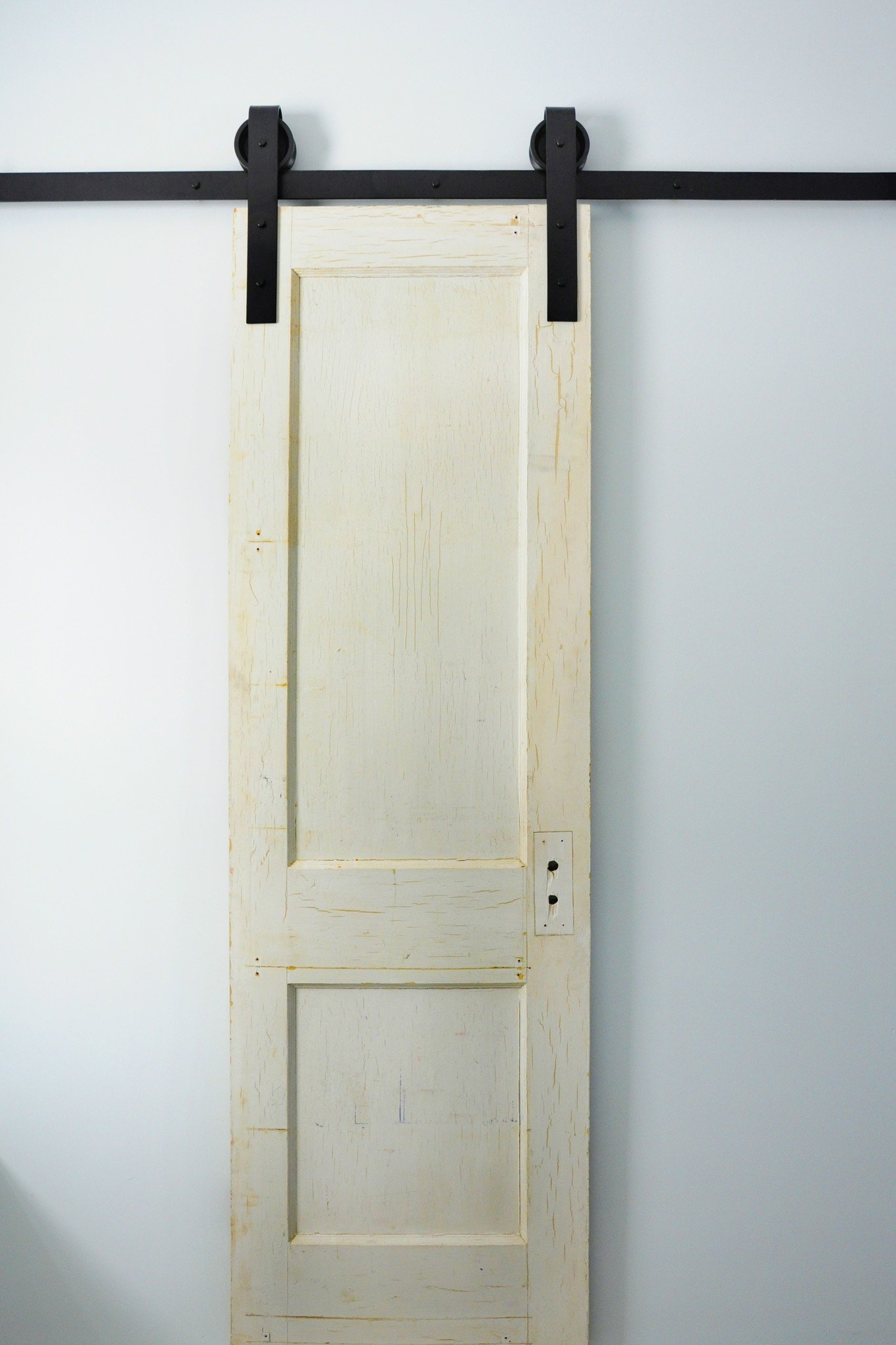 for wood follow super tutorials with plumbing barn rolling door even sliding diy novice the to bathroom using most easy hardware pipe constructors