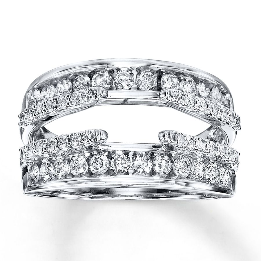 Inner And Outer Rows Of Round Diamonds Provide Stunning Brilliance Above Below Your Solitaire In