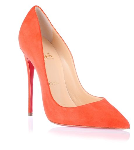 e017c927561 So Kate 120 orange suede pump <strong>Christian Louboutin</strong ...