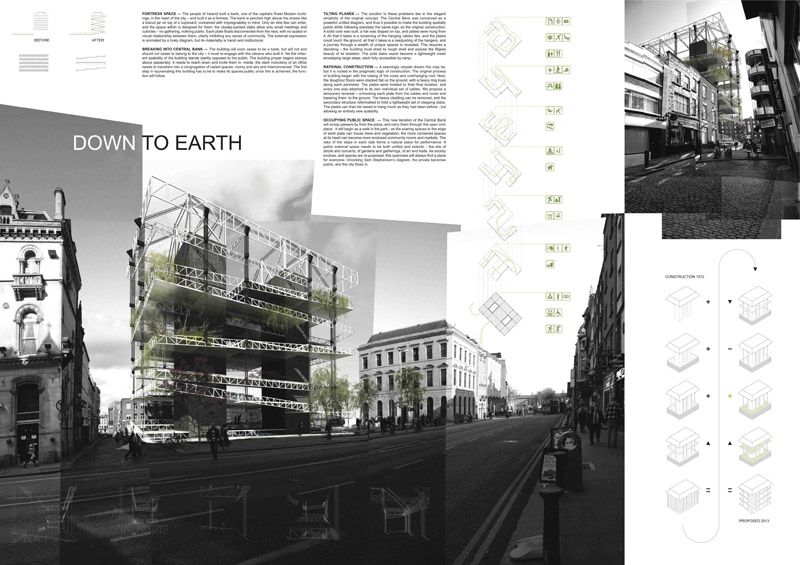 Central Bank Competition Winners Paneles Pinterest