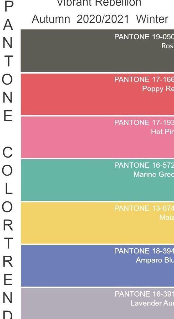 2017 Yaz Renk Pantonesi Panosundaki Pin