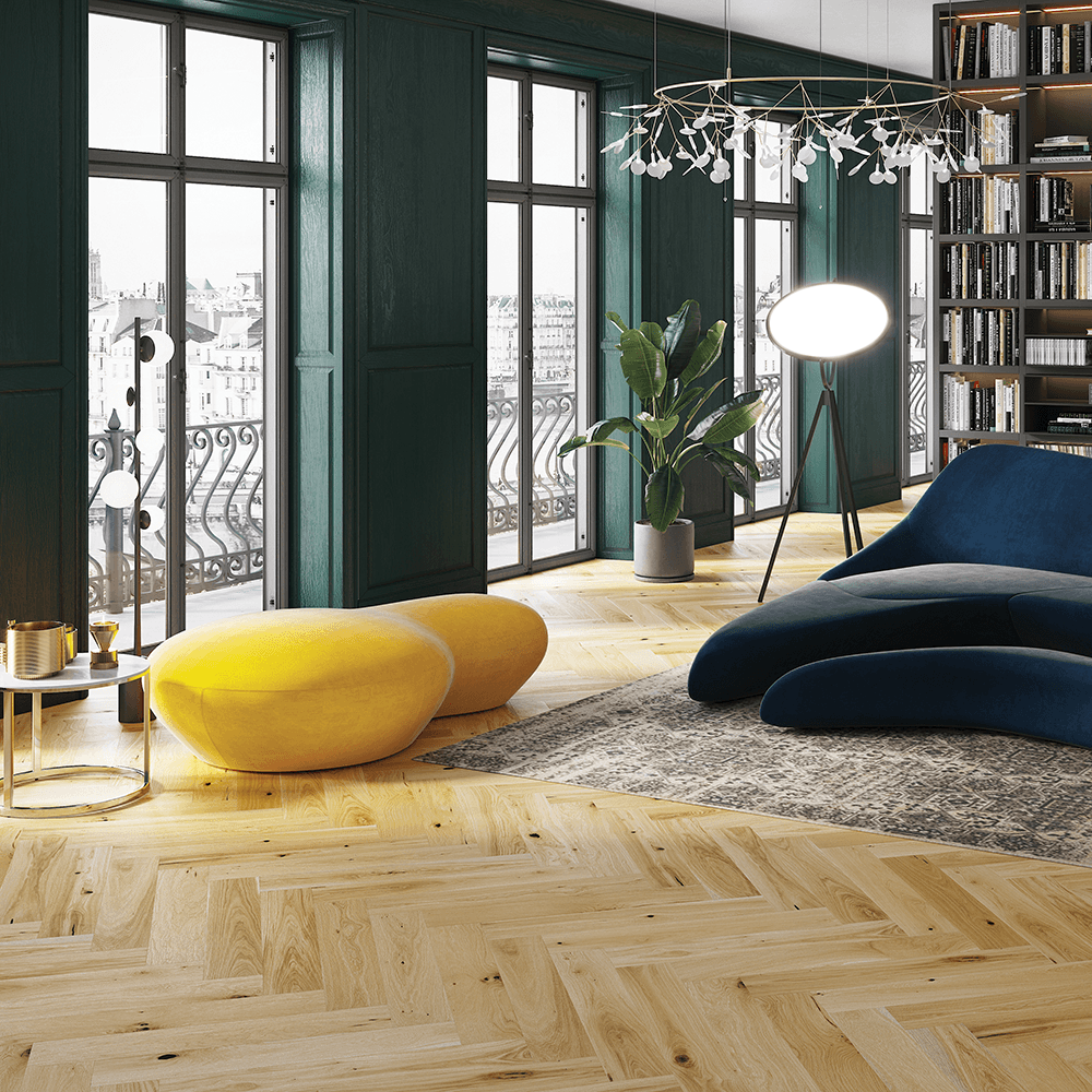 Hampton Herringbone 14mm Parquet Engineered Flooring