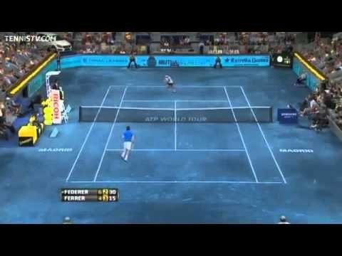 Tennis Drop Shot Approach - Copy Roger Federer - YouTube