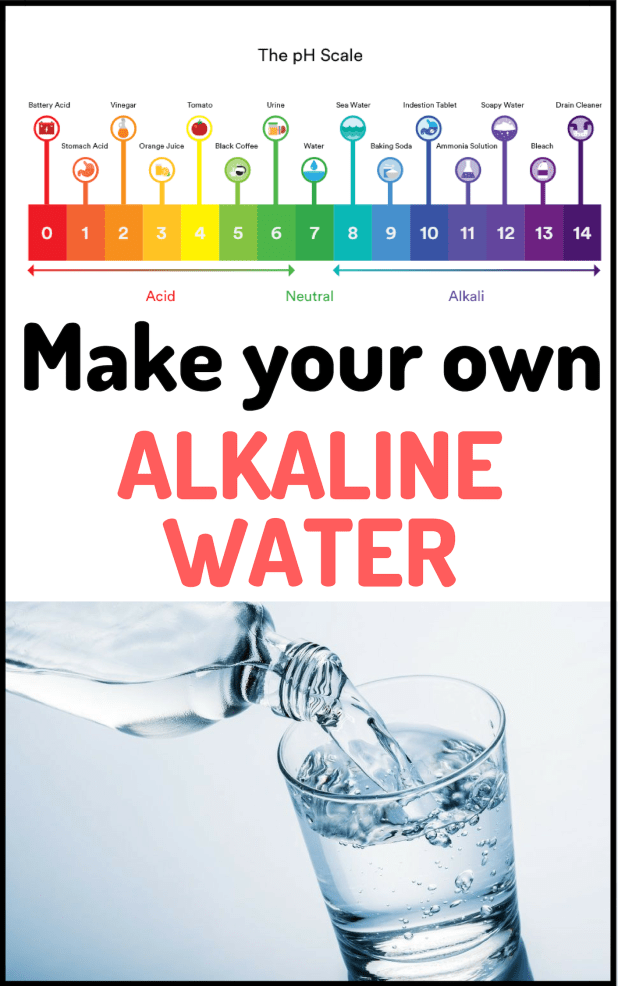 Make Your Own Alkaline Water With Only 6 Ingredients Yogin Rainbow Alkaline Foods Alkaline Water Obesity Facts