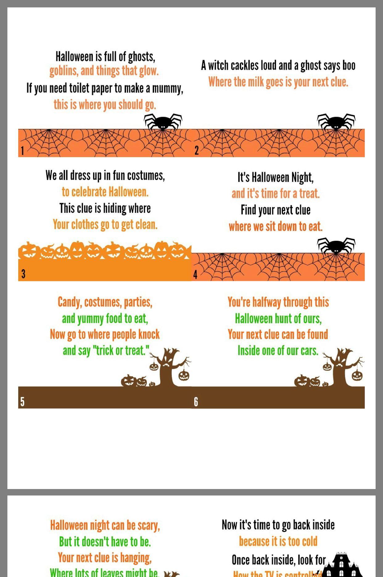 Scavenger hunt Halloween scavenger hunt, Scavenger hunt