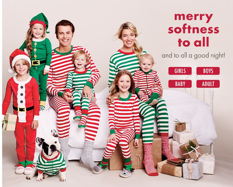 against Will's wishes... I ordered us family christmas pajamas ...