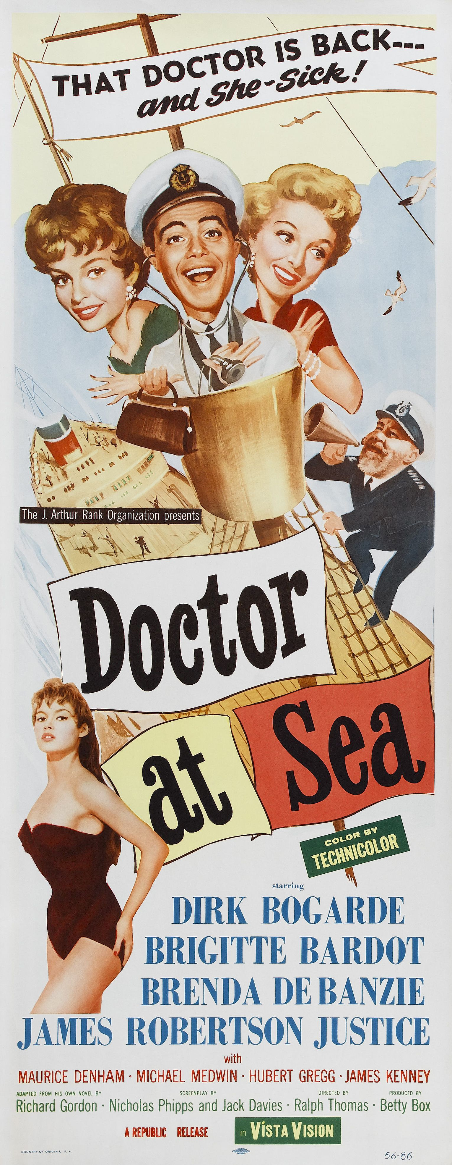 Poster Doctor at Sea (1955) 01 Ken Chamberlain, district attorney who prosecuted the case. Description from thecelebritypix.com. I searched for this on bing.com/images
