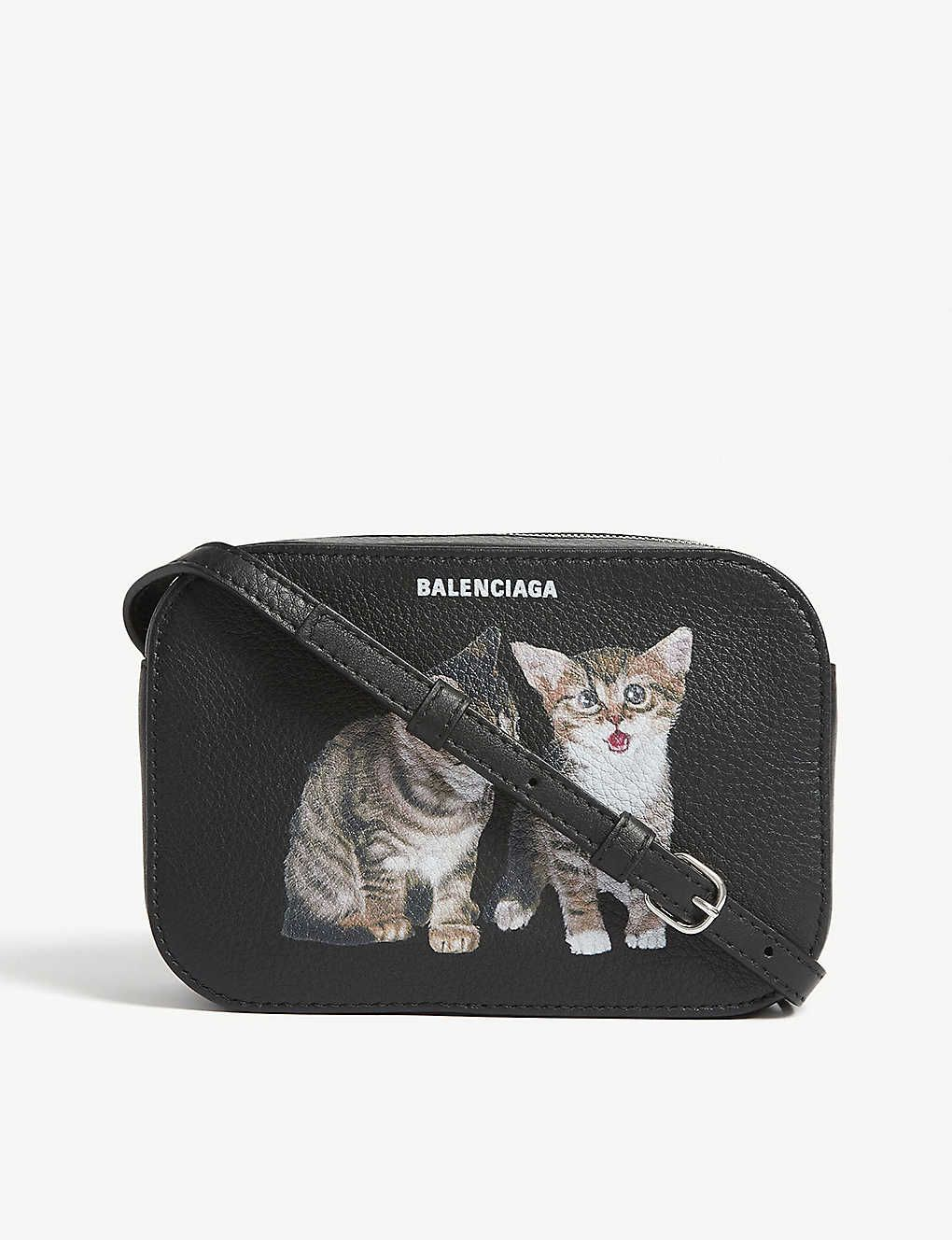 Kittens Everyday Leather Camera Bag Leather Camera Bag Bags Camera Bag