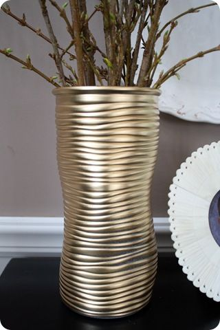 Spray Paint Can Transform Anythingcluding This Glass Vase