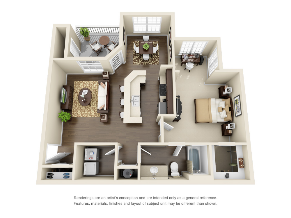 Luxury 1 2 And 3 Bedroom Suwanee Apartments For Rent Steadfast Apartment Rental Suwanee Small Apartment Floor Plans Apartment Layout Sims House Plans