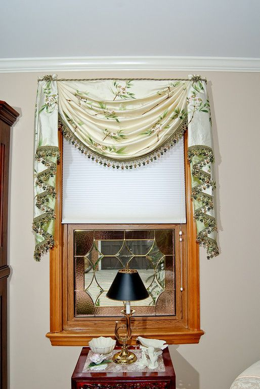 Single Swag With Cascades Window Treatment Swags By Unusual Designs Pinterest Single Swag