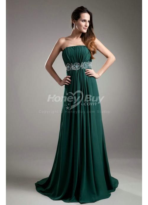 hunter green evening gowns | Evening Dresses 2014 | Designer ...