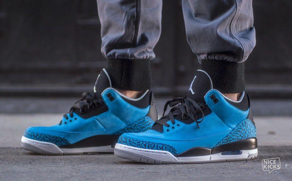 cheap for discount 8ffa3 e1b5c Air jordan 3 powder blue.  shoestobuy  mensstyle  urbanstyle  fresh   sneakers  kicks