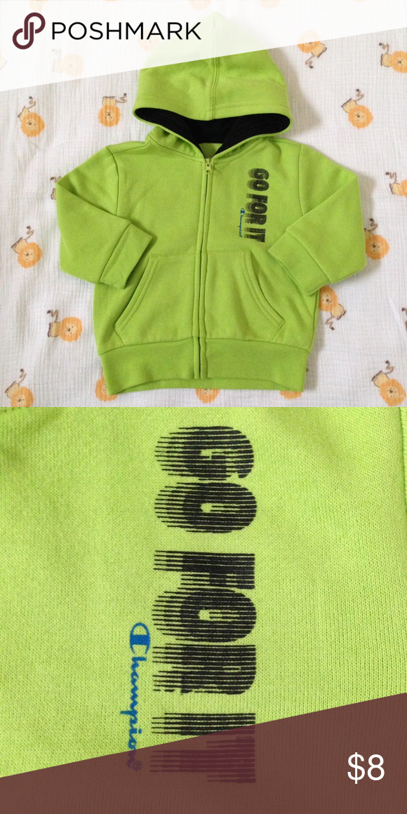 1ff4631b4 Neon Green Hooded Sweater (Baby)