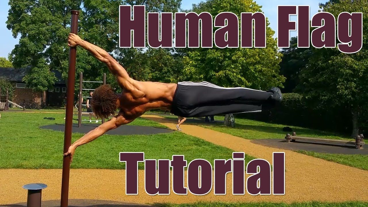 How To Human Flag Step By Step Beginner To Advanced Progressions Youtube Human Flag Pole Fitness Moves Pole Dancing Fitness