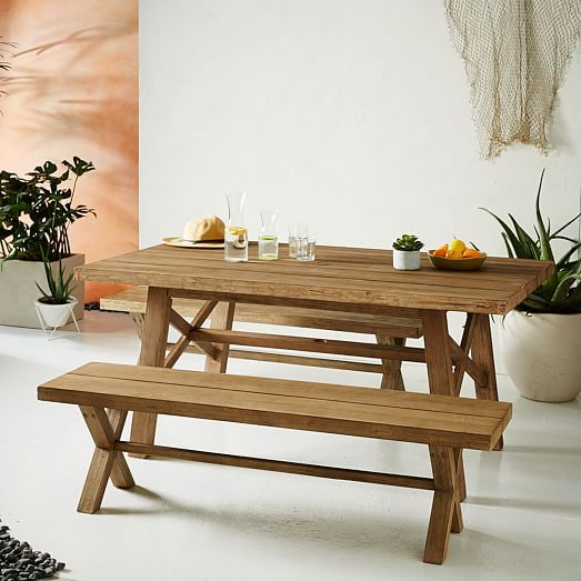 Jardine Apartments: Jardine Dining Set – Table + 2 Benches