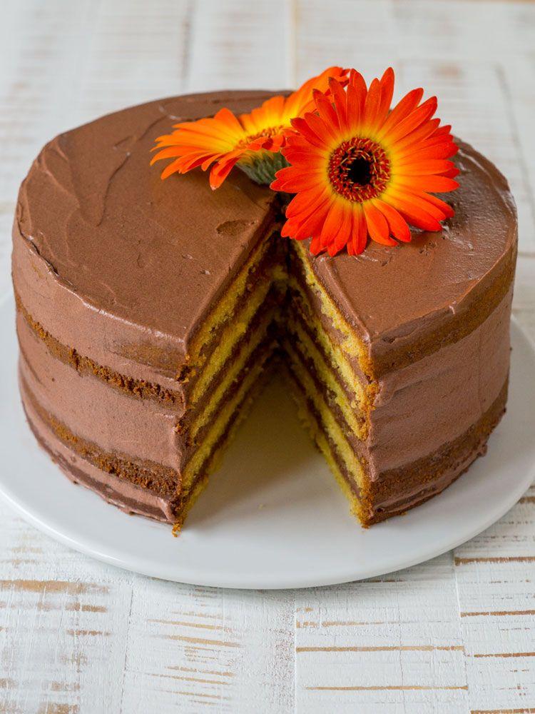 Schoko Orangen Torte Recipe Omi S Kitchen Pinterest