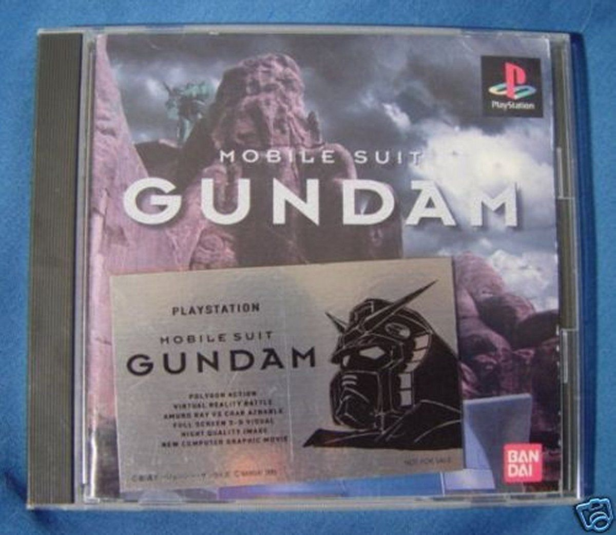 PS1 Japanese : Mobile Suit #Gundam SLPS 00035 http://www.japanstuff.biz/ CLICK THE FOLLOWING LINK TO BUY IT ( IF STILL AVAILABLE ) http://www.delcampe.net/page/item/id,0377623980,language,E.html