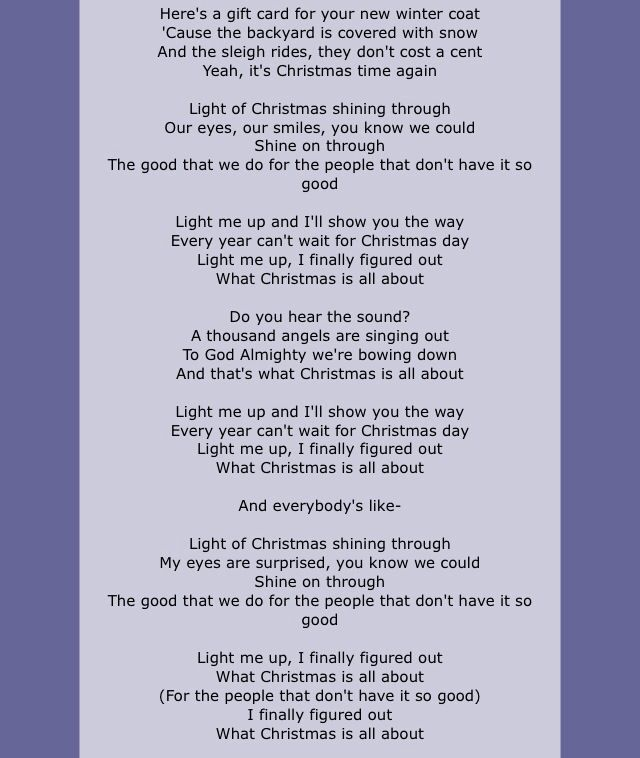 Light Of Christmas By Owl City And Tobymac Owl City Lyrics My Love Song Owl City Songs