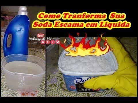 Ideia Por Elisangela Evaristo Em Receitas Caseiras Soda Escamas