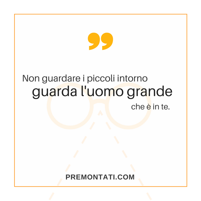 Soffermati su ciò che conta davvero. ✨ ➡️ SCONTO -50% sul primo ordine di occhiali. Vai su Premontati.com