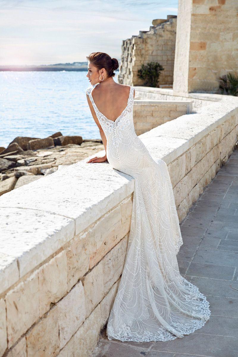 Wedding dress fabiola u eddy k bridal gowns designer wedding