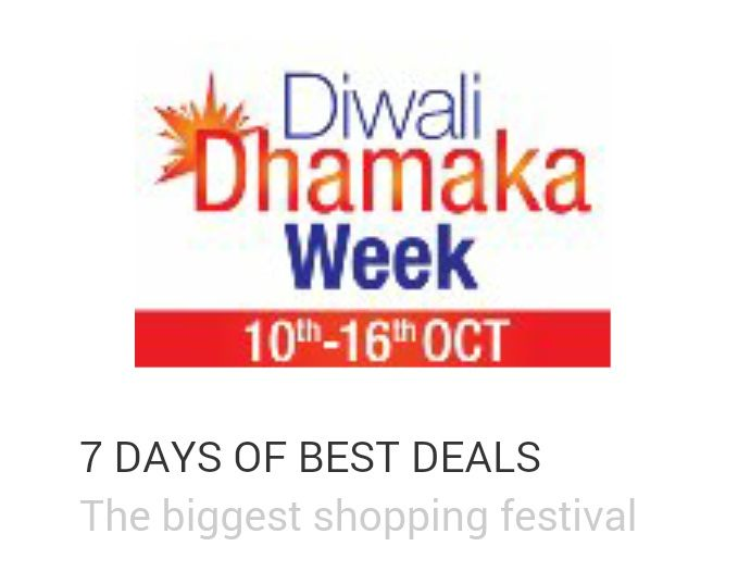 Amazon Diwali Dhamaka Week 10th Oct 16th Oct Diwali