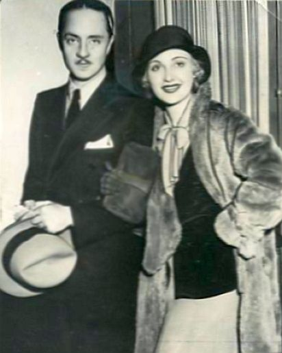 Newlyweds William Powell and Carole Lombard in 1931