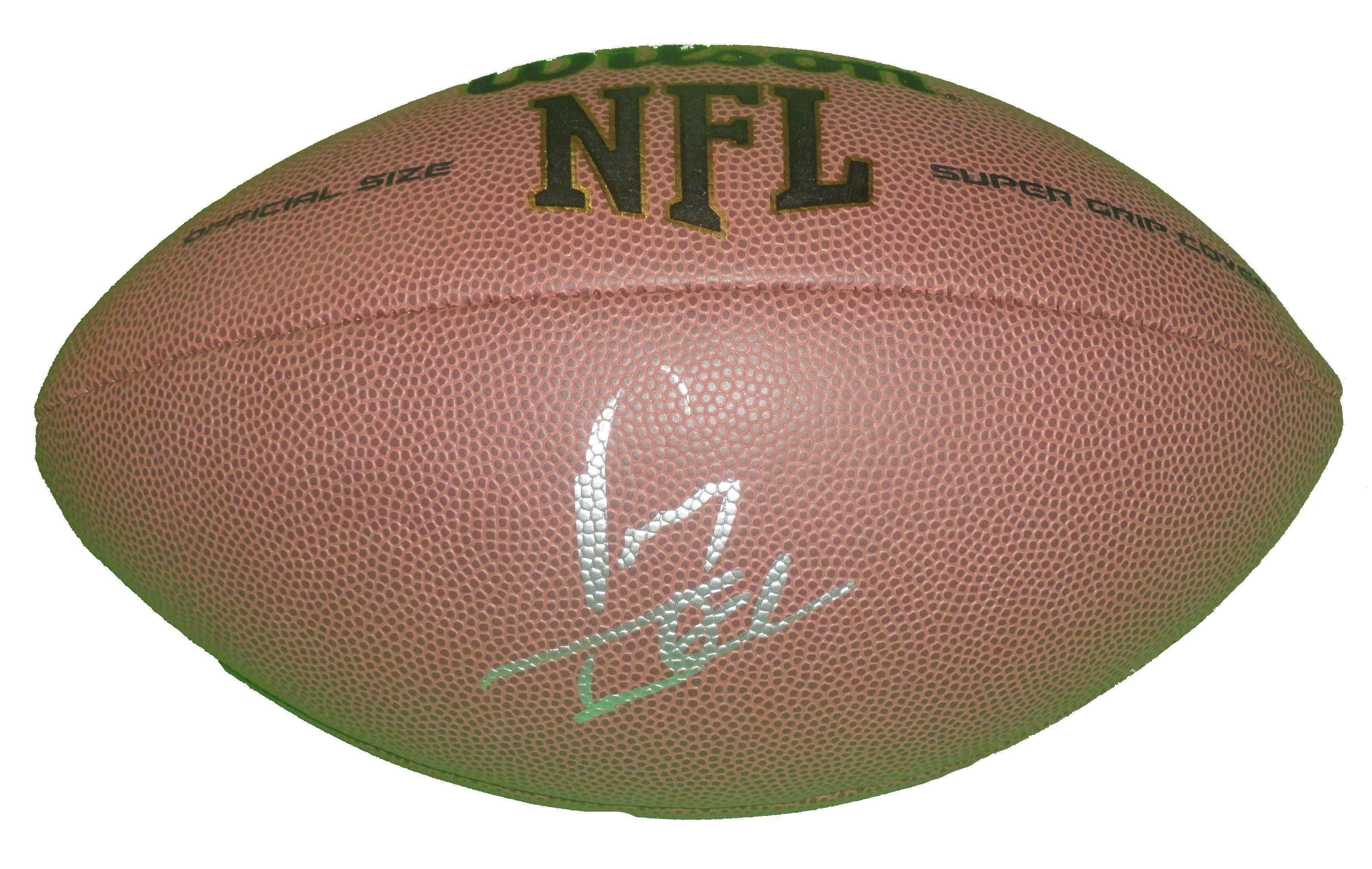 Vinny Testaverde Signed NFL Football, New York Jets