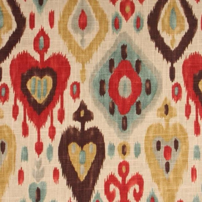 Django Persian Ikat Home Decorating Fabric 6600690 | Fabrics | Pinterest