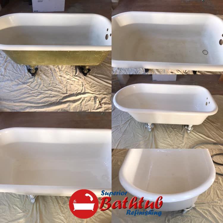 Want To Refinish A Old Clawfoot Tub To Get It Bath Ready Again Bathtub Tub Sink