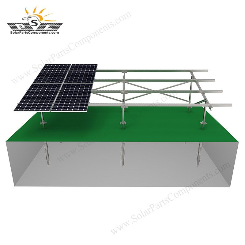 Solar Ground Mount Systems For Residential Backyard In 2020 Solar Solar Panels Carbon Steel