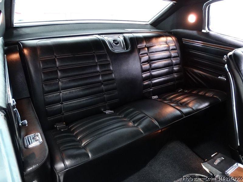 1966 Chevrolet Caprice 2 Door Custom Coupe 396 Factory Marina Blue With Black Vinyl Top And