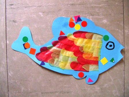 poisson vitrail