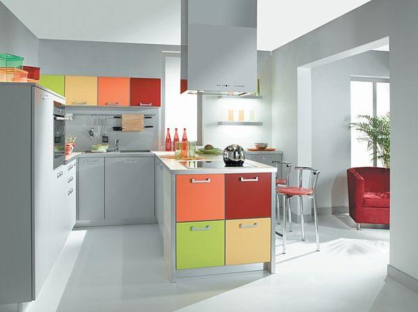la combinación de colores de su popurrí cocina aburrida