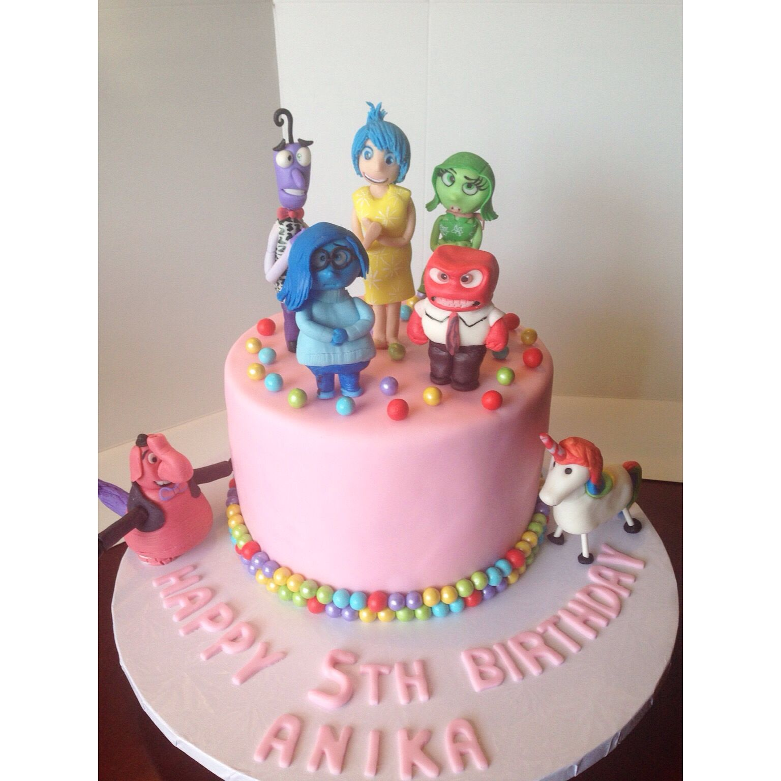 Image result for PINK INSIDE OUT CAKE
