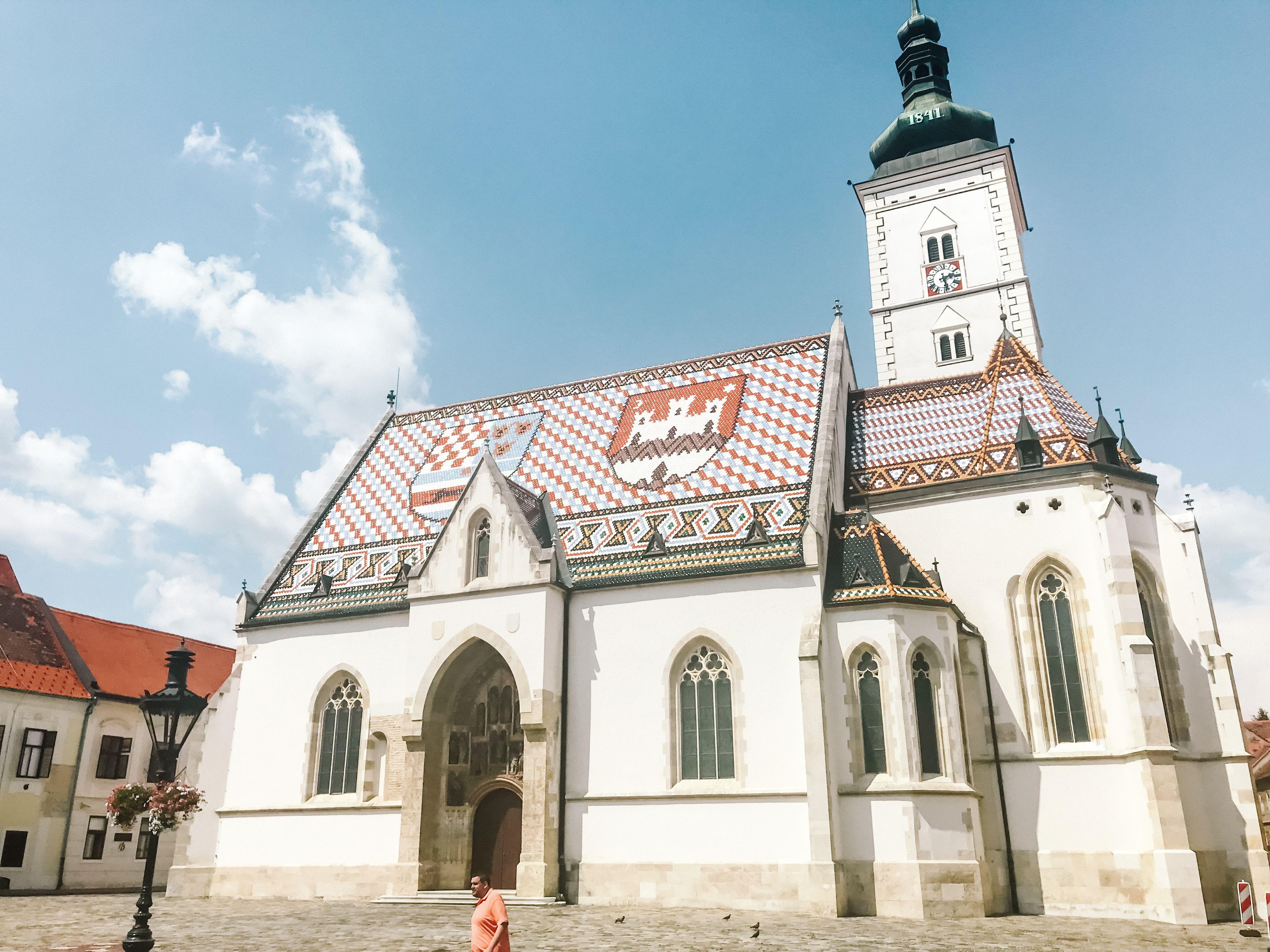 St Mark S Church Zagreb Ferry Building San Francisco Old Building Zagreb