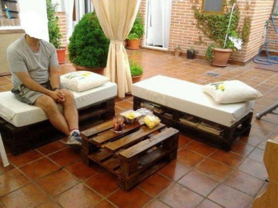 Resultado de imagen para muebles con palets facilisimo - Muebles de palets facilisimo ...