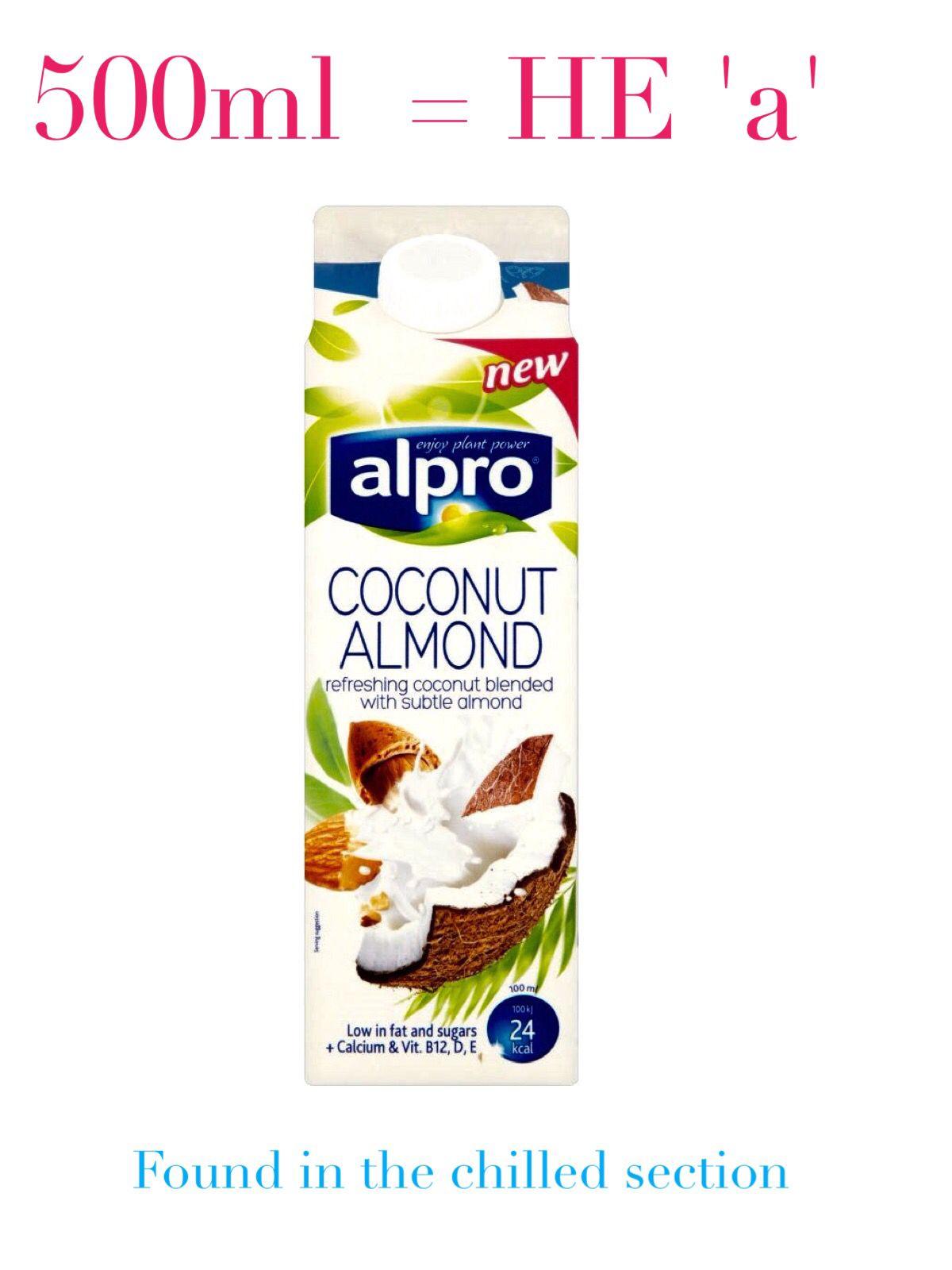 Alpro Coconut Almond Plant Based Milk Slimming World