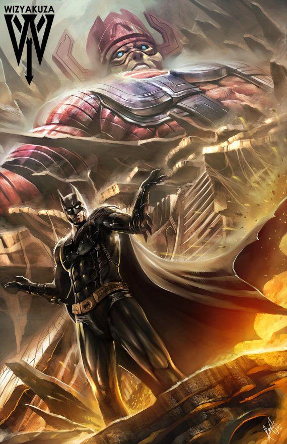 Batman vs. Galactus DC Comics & Marvel Crossover 11 by ...  Batman vs. Gala...