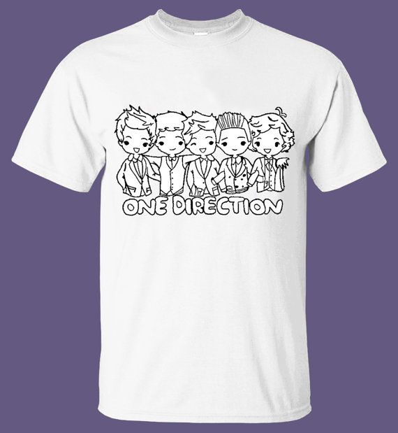 1D One Direction Cartoon T Shirt Clothing Design by MyTeeShirt,  17.00 720fcae6bf